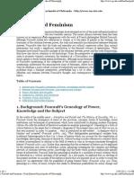 » Foucault and Feminism » Print [Internet Encyclopedia of Philosophy]