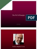 90-10 Principle Ppt Presentation