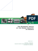 VA Equine Economic Impact Study