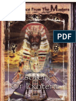 55949741 Esoteric or Exoteric