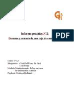 2do Informe Desarme Caja