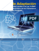 Guía de Adaptación a La Ley de Acceso Electrónico de los Ciudadanos a los Servicios Públicos