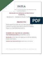 FATLA,Proyecto PACIE