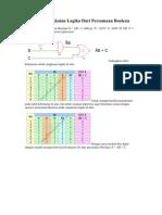Membuat Rangkaian Logika Dari Persamaan Boolean