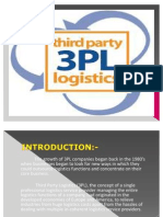 Third-Party Logistics PPT