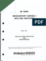 Bridge Port Milling Machine Manual