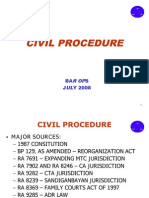 2nd Version Remedial Law Bar Ops Lecture