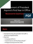 MGG Presentation on Assessment of Aquino Administration July 22, 2011