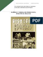 Barrios y Veredas de Piedecuesta durante el Siglo XX