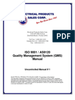 Qms Manual As9120