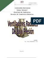 Ventilador Radial MARCO TEORICO