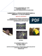 Manual_tecnico Para Fertilizacion Organica de Cafe