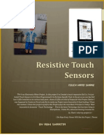 "Resistive Touch Sensors With a practical Modal of "" Touch Hand Shake ""."