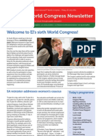Congress Newsletter ENGLISH 22nd July