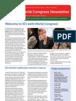 Congress Newsletter ENGLISH 22nd July
