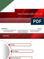 Organisational Behaviour -II  India Yamaha Motors interim ppt [download to view full presentation]
