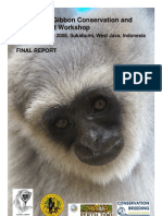 Indonesian Gibbon Workshop Final Report 2008
