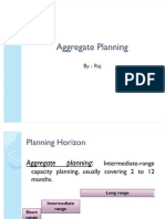 Aggregate Planning by Raj