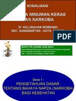 Bahaya Miras-narkoba ; Rembang