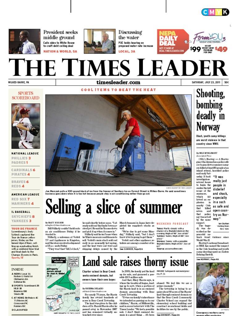 Times Leader 07 23 2011
