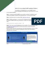 Howto Install Zendplatform on XAMPP