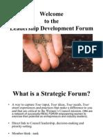 Leadership Development Forum