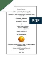 Final Major Project Report
