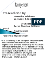 Personnel Management 1
