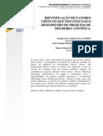 Alves et al. - 2007 - Identificação de fatores críticos que influenciam