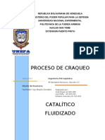 Proceso Craqueo Catalitico Fluidizado