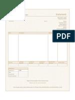 Proforma for Invoice