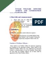 Punjab Welfare Officer