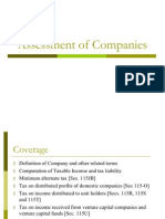 Assessment of Companiesx