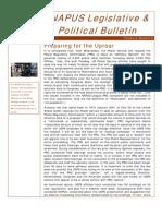 eNAPUS Legislative & Political Bulletin July 21 2011
