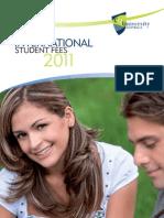 C10-131 Int Student Fees