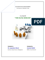 Case Study III_The Bank Merger