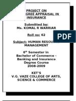 360 Degree Appraisal in Insurance