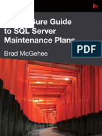SQL Server Maintenance Plans Brad eBook Jan13