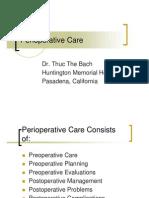 Perioperative Care1