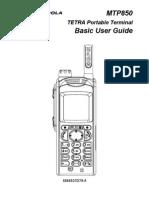 Userguide Motorola Mtp850