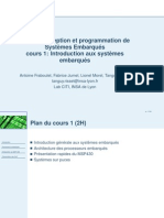 Cours_Conception Des Systemes Embarques