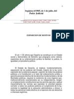 LO 6-1985 de 1 de Julio, Del Poder Judicial
