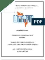 3. Codigo Etica Profesional Cp Resumen