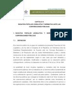 Capitulo III Iniciativa Popular Legislativa y Normativa 15-10-2008