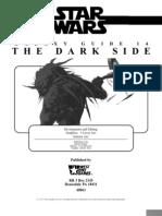 Star Wars D6 - Galaxy Guide 14 - Dark Side
