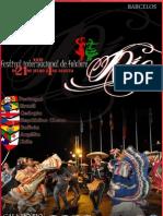 Livro do Festival Internacional de Folclore Rio 2011