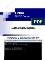 Linux Fedora 13-DHCP