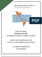 6. Desarrollo de Tema Guia Egel Programas de Fomento Al Comercio Exterior
