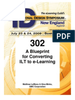 Rnid09-302-Minksleblanc-ppt-A Blue Print for Converting ILT to E-Learning