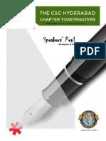 Speaker's Pen Volume 3